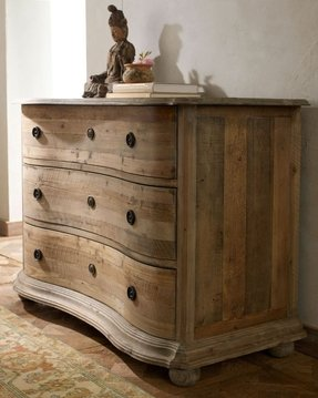Natural pine bedroom furniture