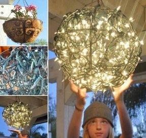 Outdoor hanging chandelier foter outdoor hanging chandelier 1 aloadofball Choice Image