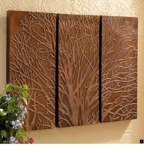 Outdoor wall plaques 1