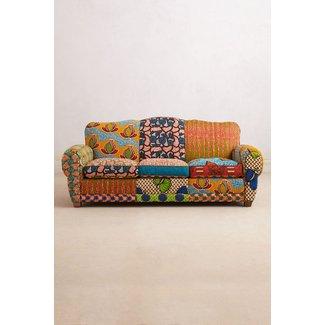 Print Fabric Sofas 1