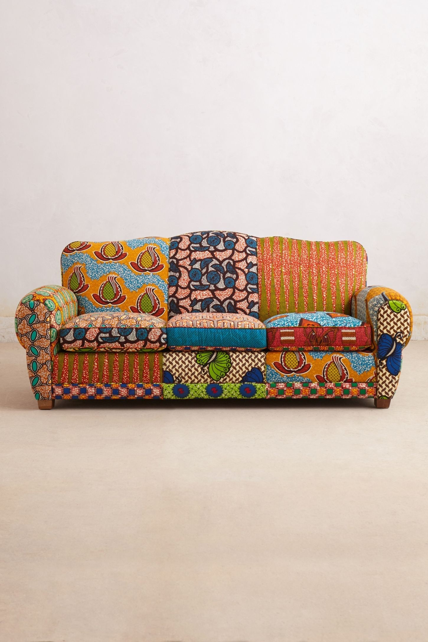Ordinaire Print Fabric Sofas 1