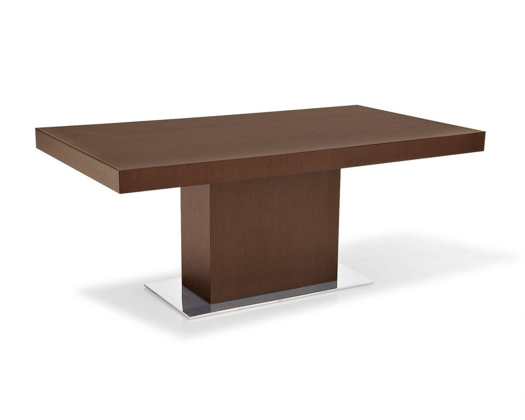 Rectangular double pedestal dining table