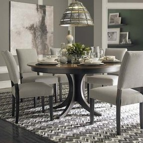 Round table dining room furniture