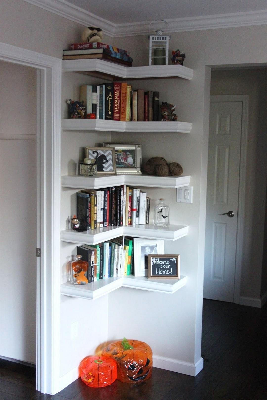 Shelving Ideas For Living Room Walls