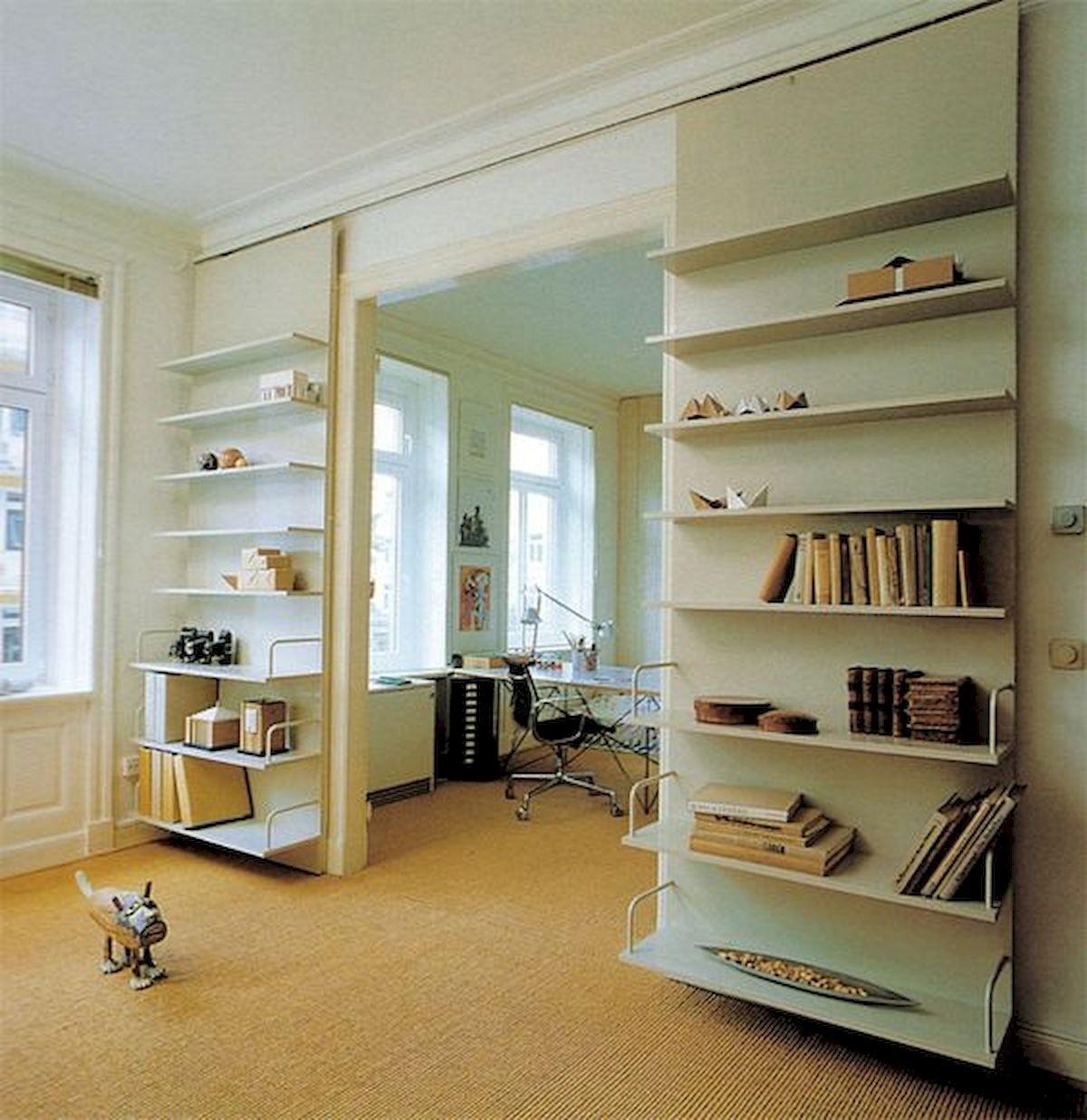Sliding Door Bookshelf