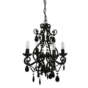 Mini Black Chandeliers With Crystals Ideas On Foter