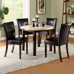 Small dining set for 4