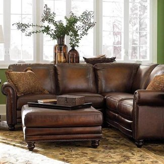 Small Leather Sectional Sofa Ideas On Foter