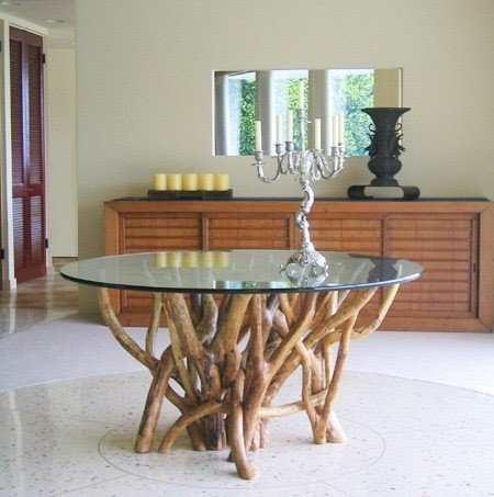 Small Oval Glass Dining Table