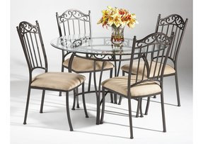 Small Wrought Iron Table
