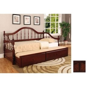 Solid wood daybed with trundle 1