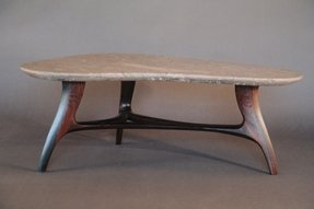 Stone top coffee table 1