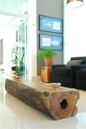 Stone top coffee table 2