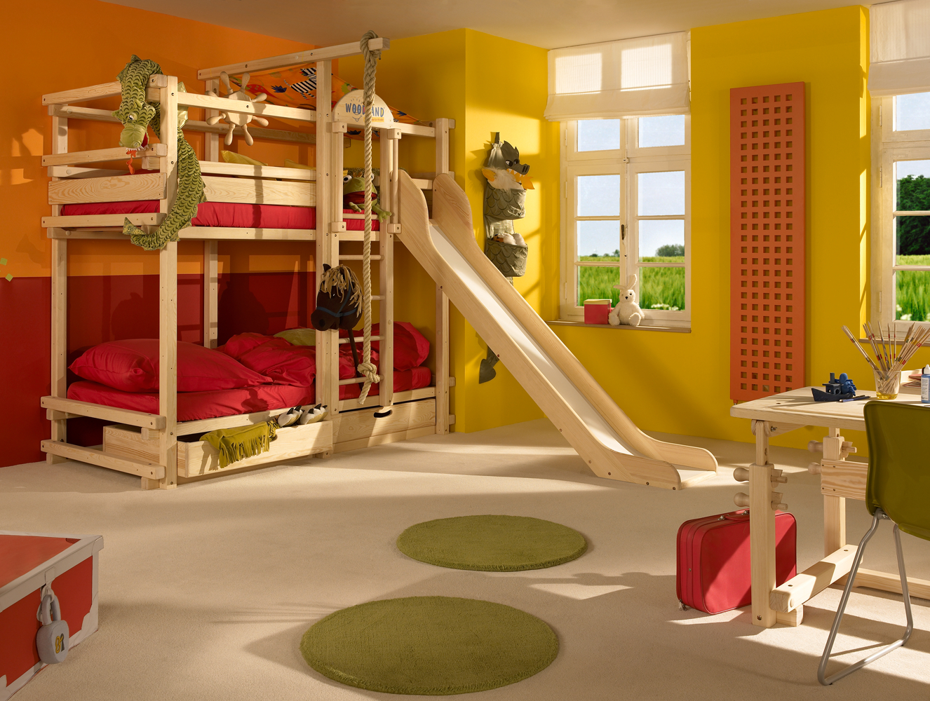 Three Bed Bunk Beds