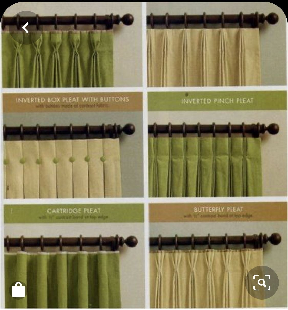 Draperies Curtains And Valances