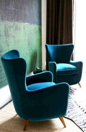 Velvet Accent Chairs 1