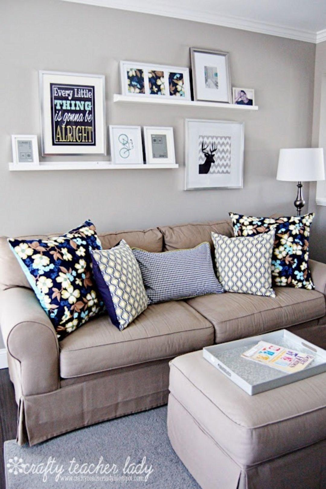 Charmant Living Room Wall Shelves   Ideas On Foter