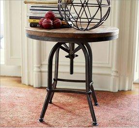 Adjustable Height Side Table Foter