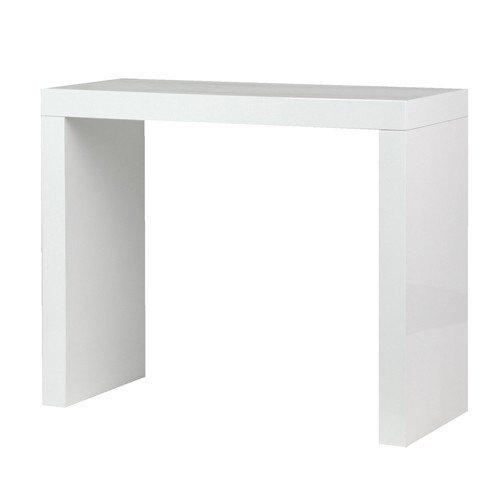 White High Gloss Console Table 2