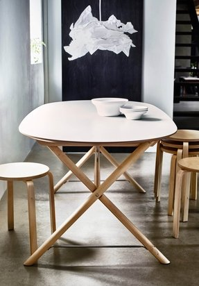White Laminate Dining Table Foter
