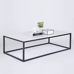 White marble top coffee table 3