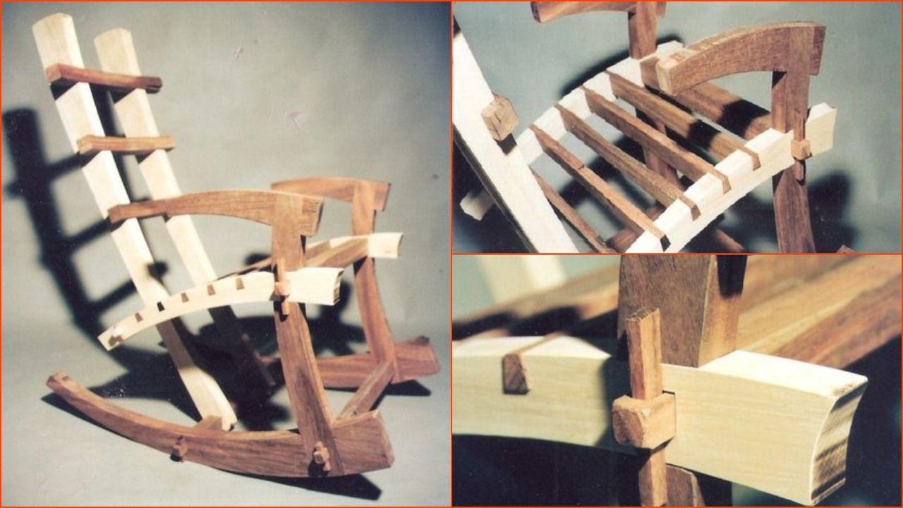 Wood Rocking Chairs 1