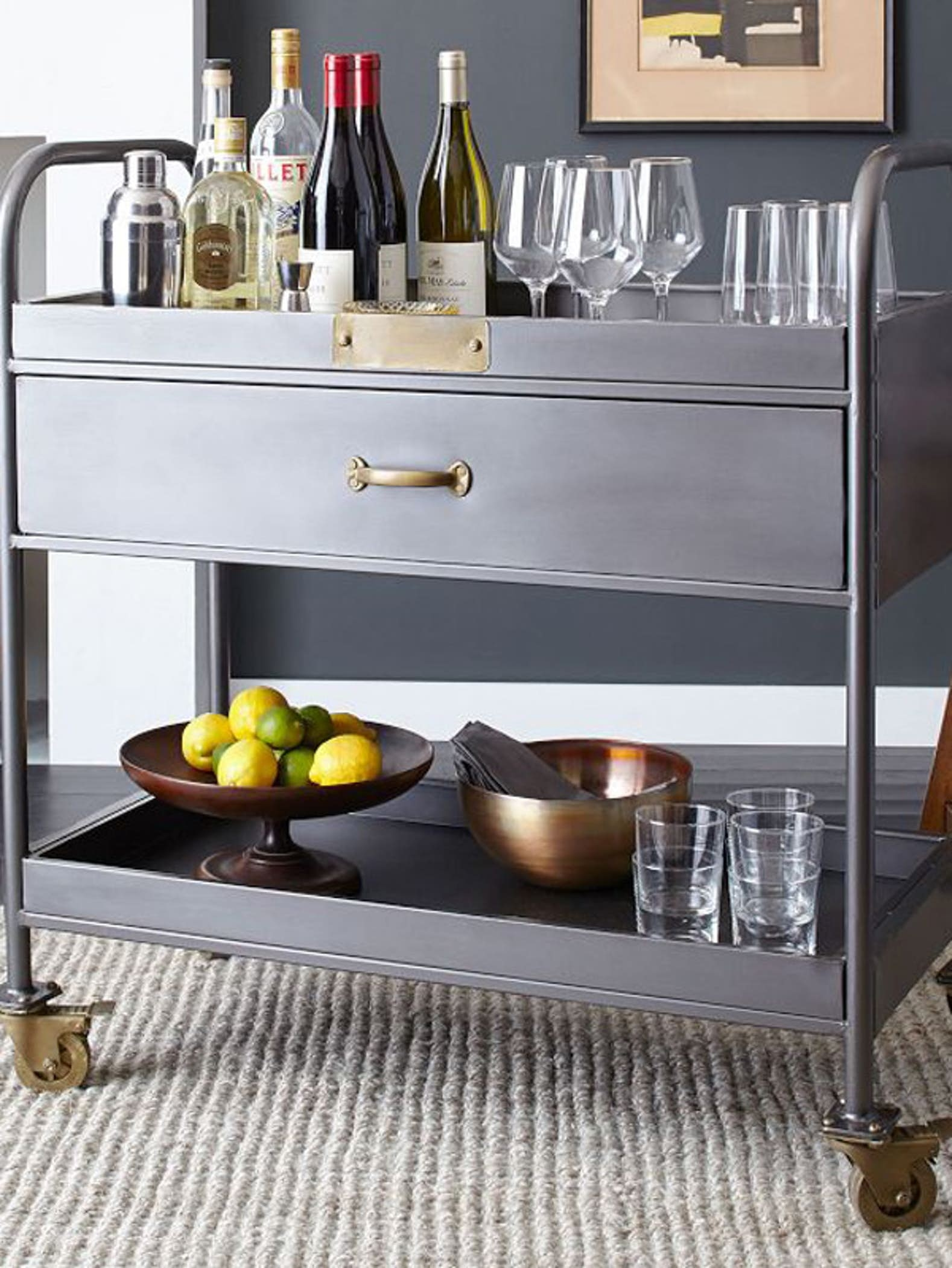 Workshop Bar Cart
