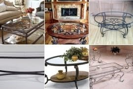 Our Choice Best Wrought Iron And Glass Coffee Tables Products