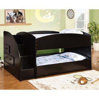 save off 2190b c61ab Low Bunk Beds With Stairs - Ideas on Foter