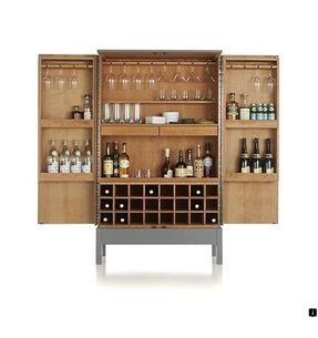 pottery c wine bar for barn with products sale system hutch hutchopen cabinet open modular