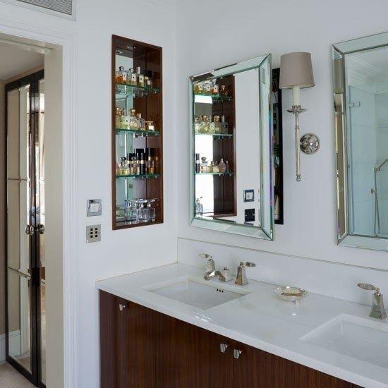 Beveled Mirror Medicine Cabinet