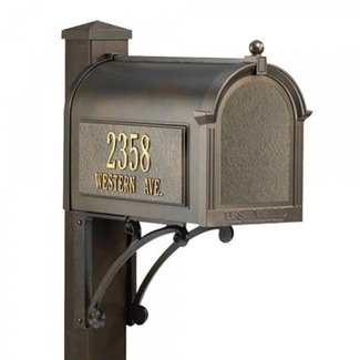 Cheap mailboxes with post