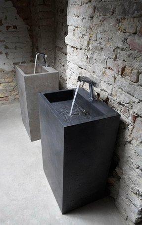 contemporary medeski bathroom sink sinks pedestal porcelain