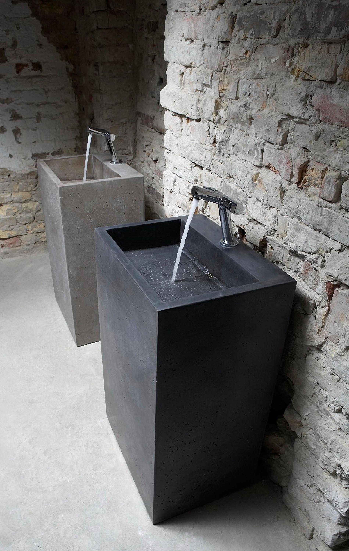 Merveilleux Contemporary Pedestal Sinks 2