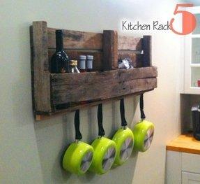 Cast Iron Hanging Pot Rack - Ideas on Foter