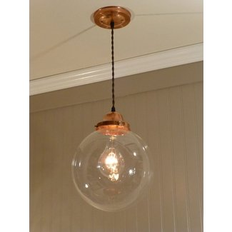 Copper track lighting 13