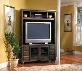 Corner Entertainment Center Plans For Flat Screen Tvs