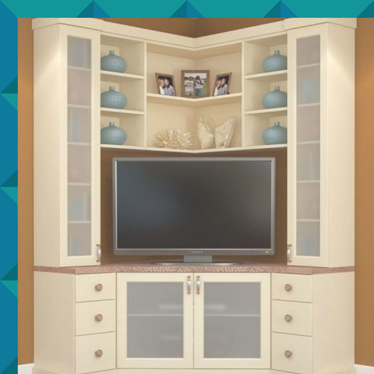 Exceptional Corner Entertainment Unit