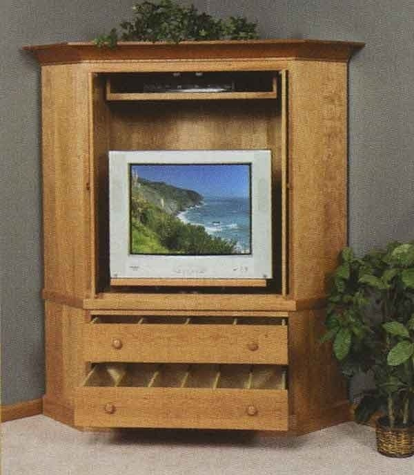 Corner Tv Cabinets With Doors 2