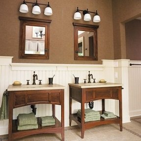 Recessed Wood Medicine Cabinets With