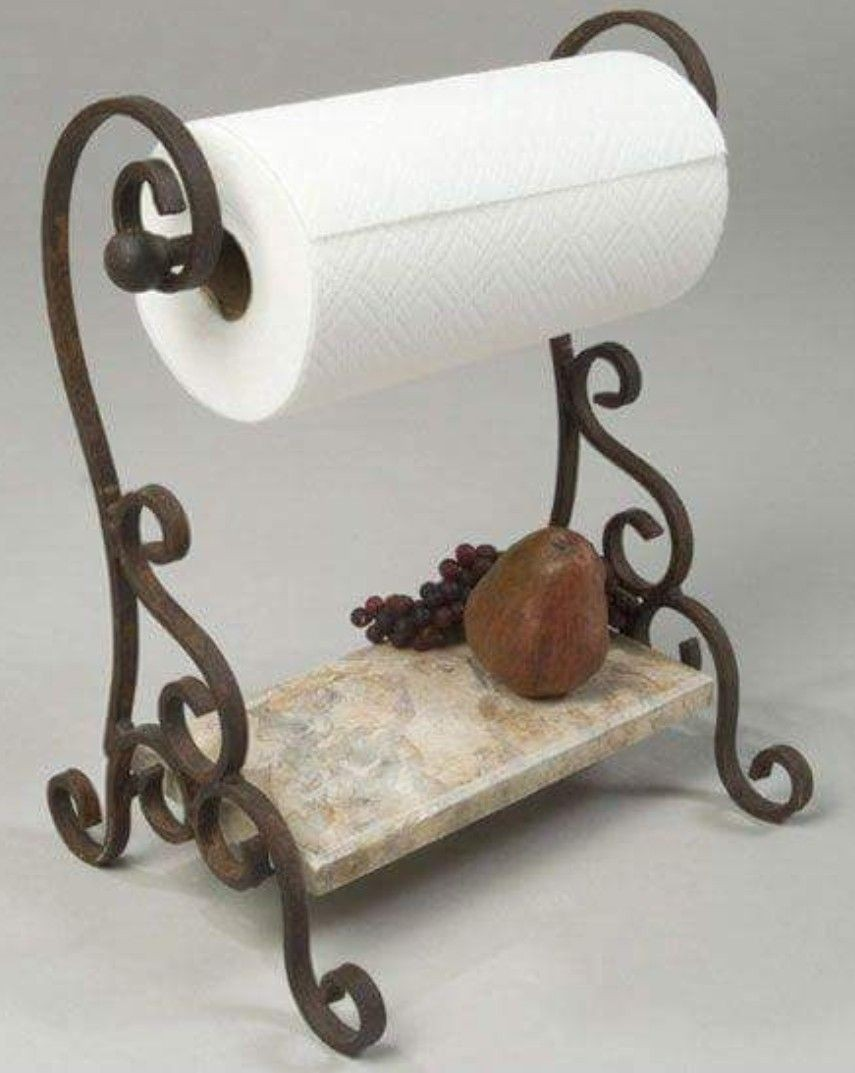 decorative paper towel holders ideas on foter rh foter com Bathroom Vanity Towel Holder Decorative Kitchen Paper Towel Holders