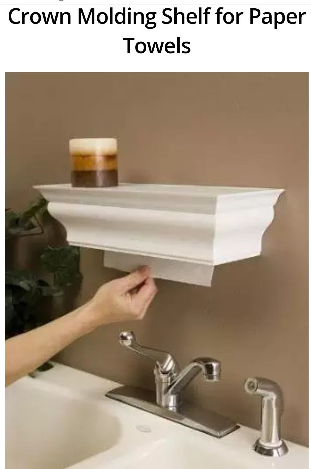 Decorative Paper Towel Holders
