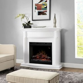 Electric fireplace mantel packages 13