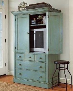 Tv Armoire With Drawers - Foter