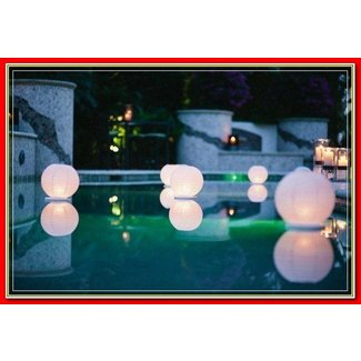 Christmas Themed Pool Floats.Floating Pool Lletters Lights Decorations For Party