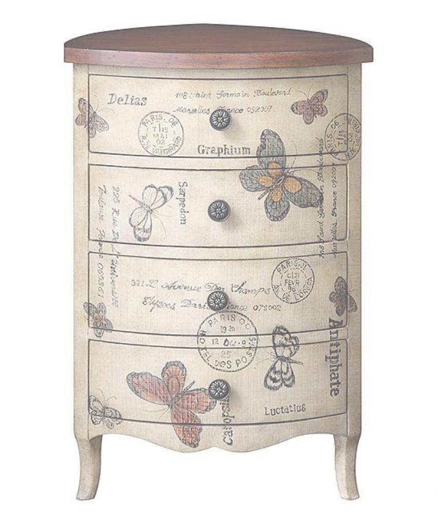 Charmant Hand Painted Storage Cabinets