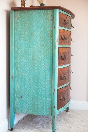 Fresh Hand Painted Chest Of Drawers - Foter SW38