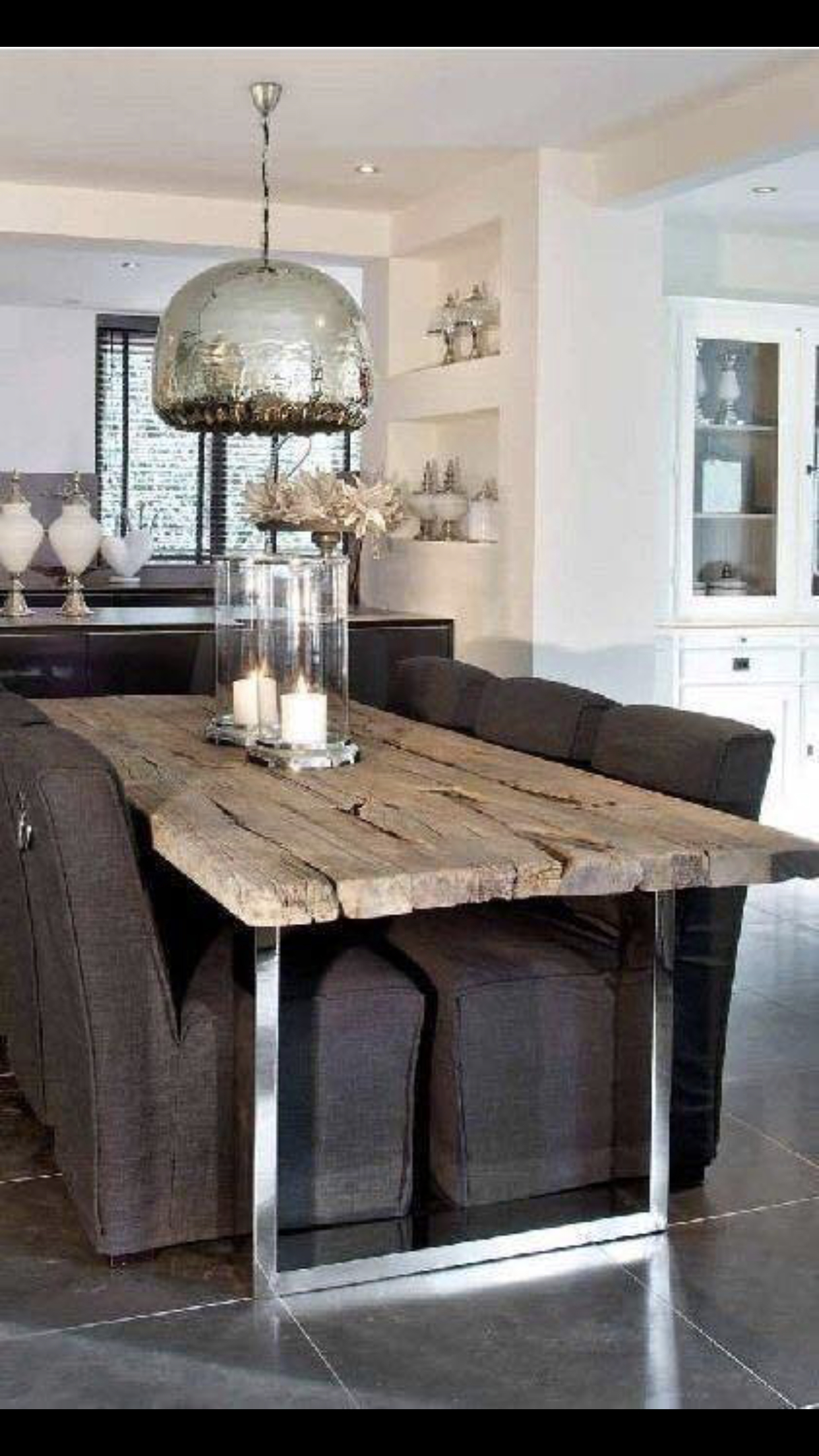 Industrial Looking Dining Tables
