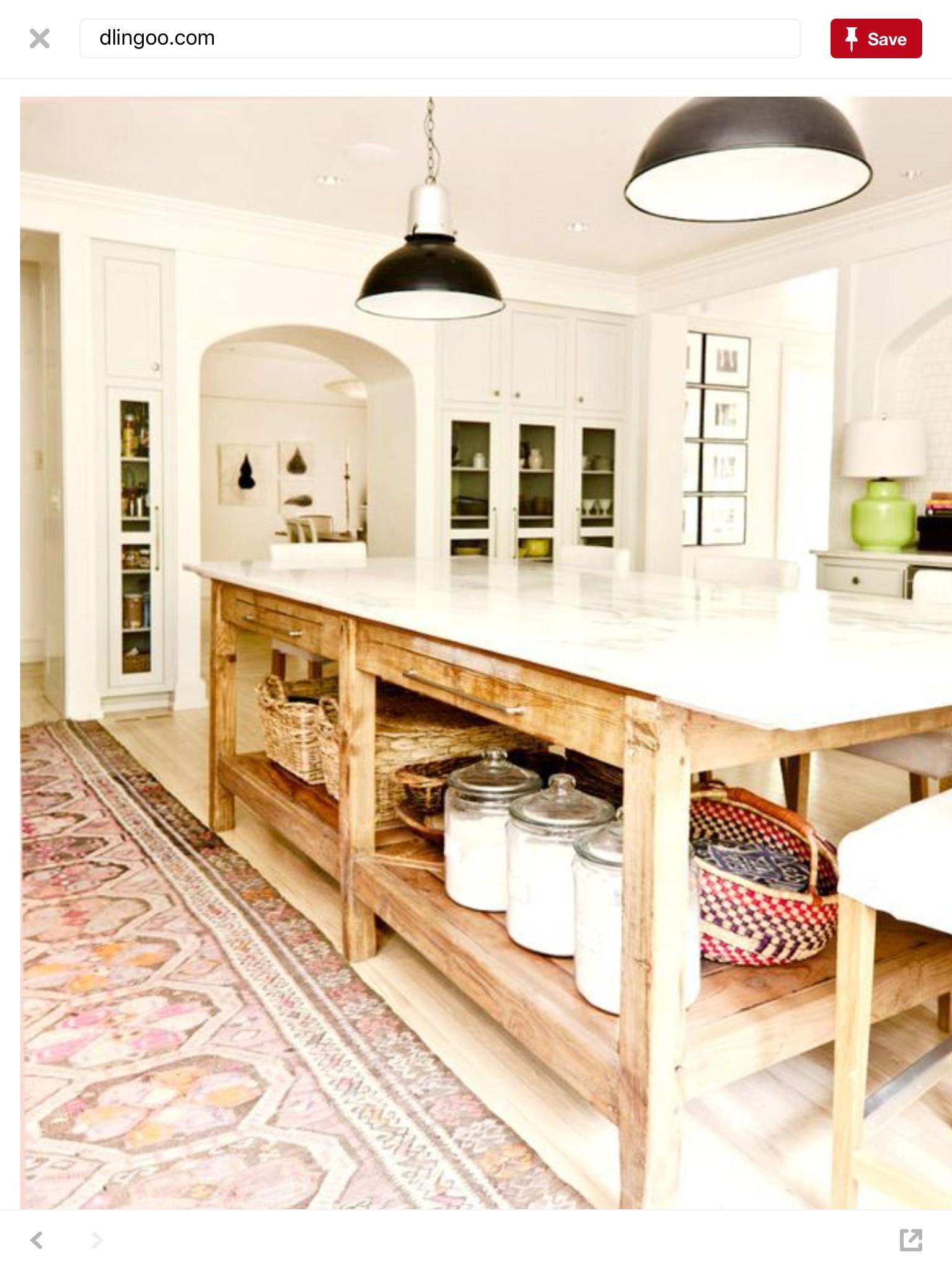 Superb Kitchen Storage Table