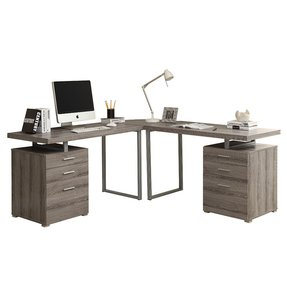 L shaped desk with storage 2